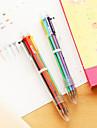 Pen pero Kemijske olovke pero, plastika Srebrna Crn Plav Bijela Zlato Zelen tinta boje For Školski pribor Uredski pribor Pakiranje od