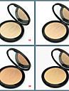 Однотонные Набор макияжа Компактная пудра 1 pcs Сухие Покрытие / Консилер / Натуральный Лицо Составить косметический