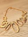 Жен. Ожерелья-бархатки - Золотой Ожерелье Назначение Свадьба Для вечеринок Повседневные
