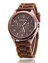 Xu™ Women\'s Quartz Wrist Watch Casual Watch Silicone Band Charm Casual Fashion Black White Blue Red Brown Green Pink Purple