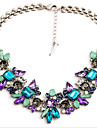 Women\'s Statement Necklace - Fashion, Colorful, Festival / Holiday Blue Necklace Jewelry For Party, Special Occasion, Birthday / Gemstone
