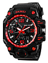 SKMEI® Super Shock Fashion Double Movement Rubber Band Sports Watch Cool Watch Unique Watch