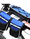 FJQXZ® Bolsa de Bicicleta 3LLBolsa para Quadro de Bicicleta A Prova-de-Agua / A Prova-de-Chuva / Multifuncional Bolsa de Bicicleta Nailom