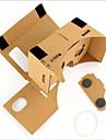 carton vr realite virtuelle lunettes tempete miroir kit diy