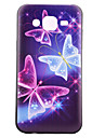 Case For Samsung Galaxy Samsung Galaxy Case Pattern Back Cover Butterfly TPU for J5 J1 Grand Prime Core Prime