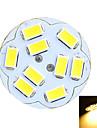 G4 LED Bi-pin Lights Recessed Retrofit 9 SMD 5730 100-200 lm Warm White Cold White 3500/6500 K Decorative DC 12 AC 12 V