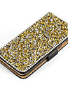 케이스 제품 Samsung Galaxy 삼성 갤럭시 케이스 크리스탈 스탠드 플립 풀 바디 글리터 샤인 인조 가죽 용 S7 edge S7 S6 edge plus S6 edge S6 S5 S4 S3