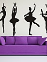 Wall Decal Decorative Wall Stickers - Plane Wall Stickers Romance Fashion Sports Removable