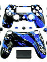 Replacement Controller Case for PS4 Controller (Blue Splash)