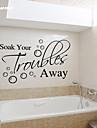 Slova a citáty Samolepky na zeď Samolepky na stěnu Ozdobné samolepky na zeď, PVC Home dekorace Lepicí obraz na stěnu Stěna