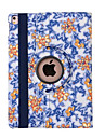 360 Degree Blue And White Porcelain PU Leather Flip Cover Case for iPad Mini 1/2/3(Assorted Colors)