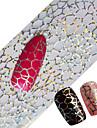 100x4cm neuesten Glitzernagelkunst voller Spitzen Wraps DIY Spinnwebe sexy Nagelfolien übertragen Lack Aufklebers Nagel Abziehbilder