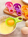 мини-яичный белок желток сепаратор яичный желток практический белый делитель посуда приготовление пищи случайный цвет