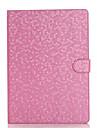 Coque Pour iPad Air 2 Avec Support Veille / Deverrouillage Automatique Magnetique Coque Integrale Formes Geometriques faux cuir pour iPad