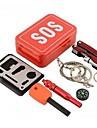 Survival Kit Emergenza Pronto soccorso Alluminio Escursionismo Campeggio All\aperto Viaggi