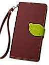 For Samsung Galaxy Case Card Holder / Wallet / with Stand / Flip / Embossed Case Full Body Case Solid Color PU Leather SamsungJ7 (2016) /