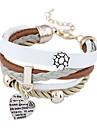 Bracelets en cuir - Retro, Soiree, Travail Bracelet Arc-en-ciel Pour Soiree