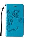 케이스 제품 LG LG K10 LG의 K7 LG G4 LG케이스 카드 홀더 지갑 스탠드 플립 엠보싱 텍스쳐 전체 바디 케이스 버터플라이 하드 PU 가죽 용