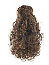 Con clip Code Elastico Bear Claw / Jaw Clip Capelli sintetici Pezzo di capelli Estensione capelli Riccio
