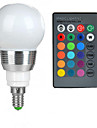 100-200 lm E14 LED Globe Bulbs A50 1 leds High Power LED Remote-Controlled RGB AC 85-265V