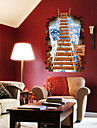 3D Wall Stickers Fashion Dream Ladder PVC Room Wall Decals Removable