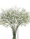 פרחים מלאכותיים 6 ענף פרחי חתונה גיבסנית פרחים לשולחן