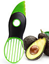 3in1 Multi-function Avocado Slicer Peeler Cutter&Core Remover Fruit Pitter Plastic Safe Durable Blade Good Grip Split