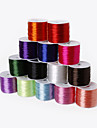 Beadia 60Mts 0.7mm Stretch Elastic Beading Cord & Wire & String (14 Colors)