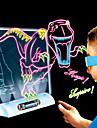 Brinquedo para Desenhar Lousas Magicas Dinossauro Aniversario Iluminacao Iluminacao de LED LED Para Meninos Para Meninas Brinquedos Dom