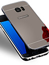 Case For Samsung Galaxy Samsung Galaxy S7 Edge Plating Back Cover Solid Color PC for S7 edge S7 S6 edge plus S6 edge S6