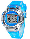 Дети Спортивные часы Цифровой LED Pезина Группа Черный Синий Красный Зеленый Розовый Фиолетовый