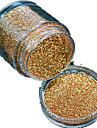 1 Bottle Nail DIY Beautiful Color Gold Laser Glitter Powder Nail Beauty Decoration L01