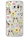 Owl Pattern TPU Soft Ultra-thin Soft  Case Cover For Samsung GalaxyS7 edge / S7 / S6 edge plus / S6 edge / S6 / S5/S4