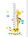 Animals Wall Stickers Plane Wall Stickers Height Stickers, PVC Home Decoration Wall Decal Wall