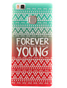 Forever Young Painting Pattern TPU Soft Case for Huawei Ascend P9 Lite P9Mini/ P8 Lite P8Mini