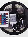 SENCART RGB Controllers 300 LEDs RGB Remote Control / RC Cuttable Waterproof Color-Changing Self-adhesive Suitable for Vehicles Linkable