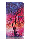 Case For Samsung Galaxy Samsung Galaxy S7 Edge Card Holder Wallet with Stand Full Body Cases Tree Soft PU Leather for S7 edge S6 S5 Mini