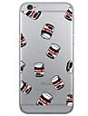 용 아이폰6케이스 / 아이폰6플러스 케이스 패턴 케이스 뒷면 커버 케이스 과일 소프트 TPU Apple iPhone 6s Plus/6 Plus / iPhone 6s/6