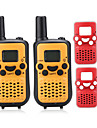 T899BR Radio de Comunicacao Portatil VOX LCD Explorar Monitoramento 3 - 5 km 3 - 5 km 8 0.5W Walkie Talkie Dois canais de radio