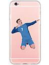 Pour Coque iPhone 6 Coques iPhone 6 Plus Transparente Motif Coque Coque Arrière Coque Dessin Animé Dur Polycarbonate pour AppleiPhone 6s