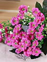 Artificial Flowers 1 Branch Pastoral Style Violet Tabletop Flower