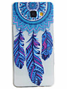 Case For Samsung Galaxy Samsung Galaxy Case Pattern Back Cover Feathers Soft TPU for A5(2016) A3(2016)