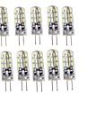 G4 LED Bi-pin Lights T 24 SMD 3014 75 lm Warm White Cold White 3000/6000 K Decorative DC 12 V