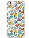 iPhone 7 7Plus Cartoon Pattern TPU Ultra-thin Translucent Soft Back Cover for iPhone 6s 6 Plus 5s 5 5E