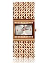 SOXY Жен. Нарядные часы Модные часы Часы-браслет Кварцевый Имитация Алмазный сплав Группа Кольцеобразный Elegant Розовое золото