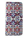 Для Кейс для Nokia Бумажник для карт / со стендом Кейс для Чехол Кейс для Цветы Твердый Искусственная кожа NokiaNokia Lumia 630 / Nokia