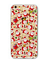 Back Cover Translucent Pattern Santa Claus TPU Soft Case Cover For Apple iPhone 7 7 Plus iPhone 6 6 Plus iPhone 5
