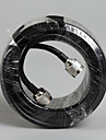 30 Meters 5D Coaxial Cable for Cell Phone Signal Booster Repeater Outdoor Antenna Use Top Quality 30m Cable N Male