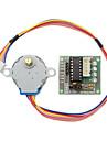 5v 스텝 모터 28byj-48 드라이브 테스트 모듈 보드 uln2003 5 라인 4 단계