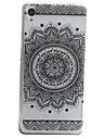 Case For Sony Sony Xperia XA Pattern Back Cover Flower Soft TPU for Sony Xperia XA Sony Xperia E5 Sony